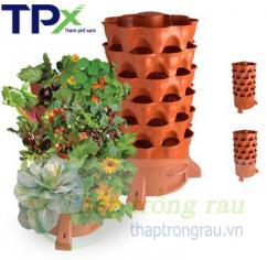 [Combo 2] 02 tháp trồng rau  TPX